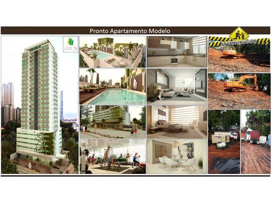 apartamentos proyecto nuevo en bella vista panama