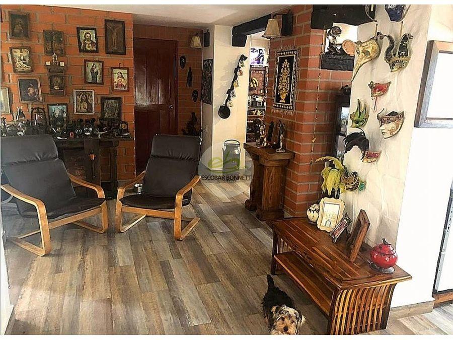 venta hermosa casa en el retiro
