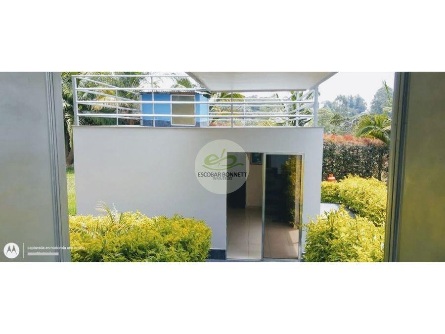 venta casa campestre entre san antonio a ceja