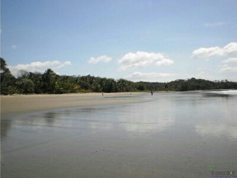 isla de bellas playas agua dulce veraguas panama