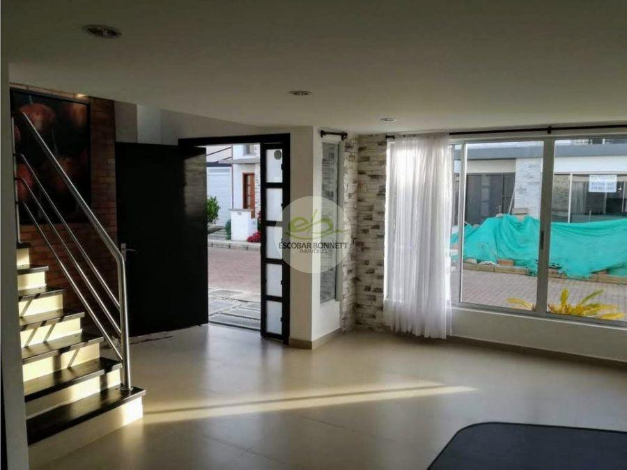venta casa en la ceja unidad cerrada