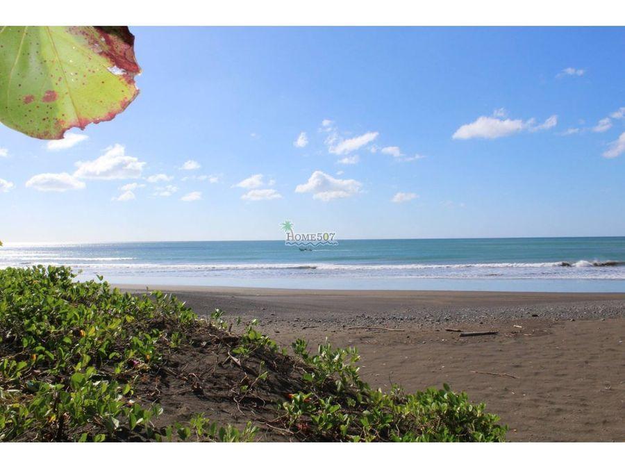 venta de terreno en playa los santos panama