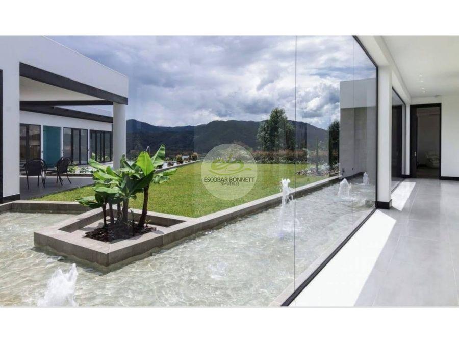 venta de casa campestre en retiro condominio