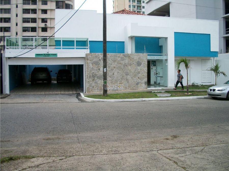 vendo casa comercial en el cangrejo panama