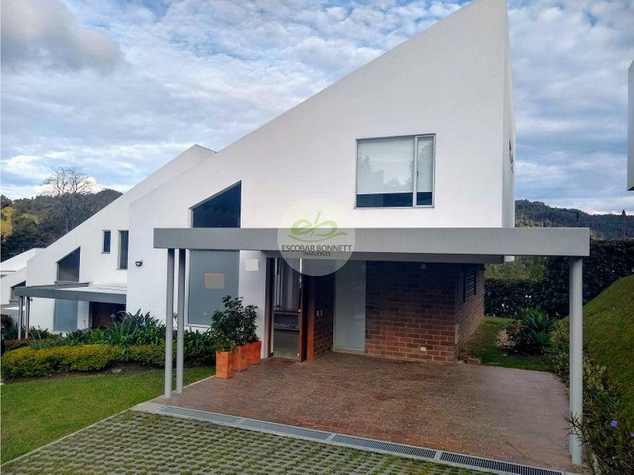 venta de casa en el retiro sector la maria