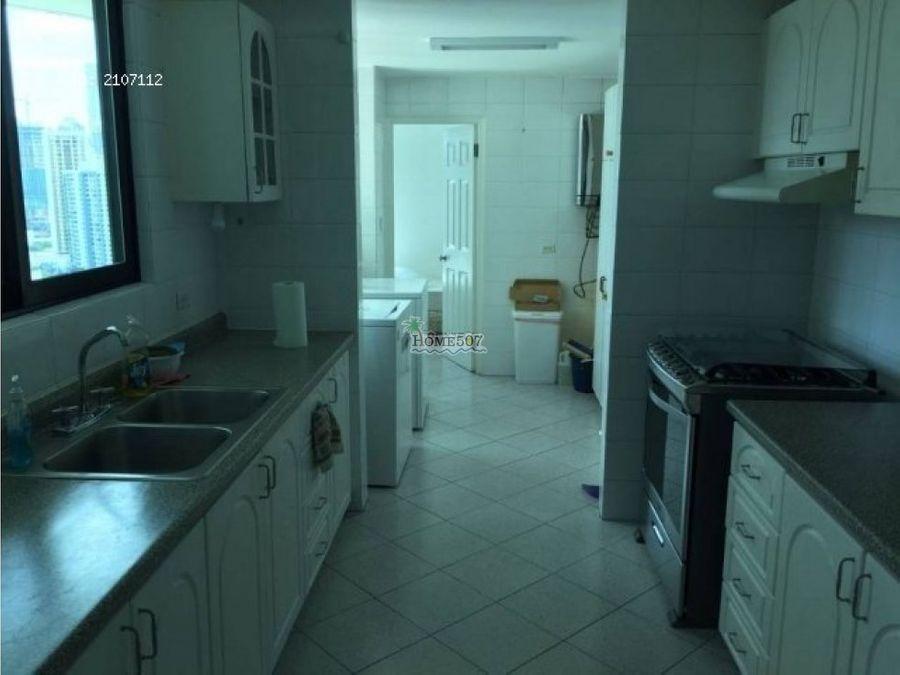 alquilo apartamento amoblado marbella panama