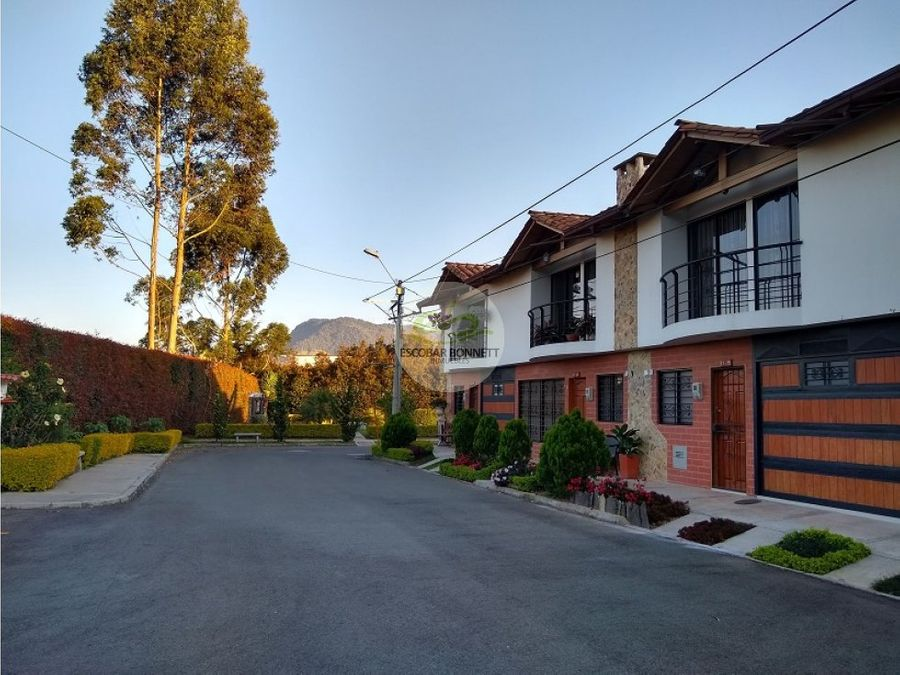 venta casa en la ceja urbanizacion