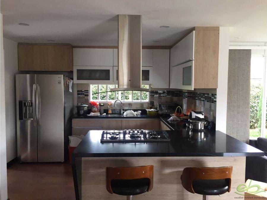 casa en venta en la ceja condominio