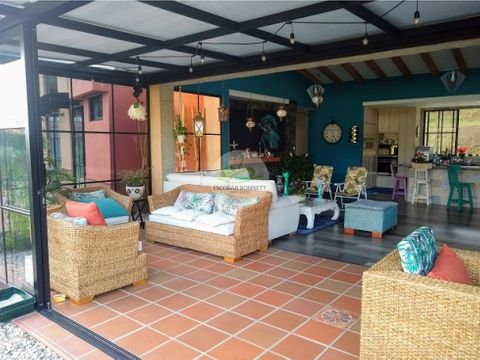 venta casa campestre en san antonio de pereira
