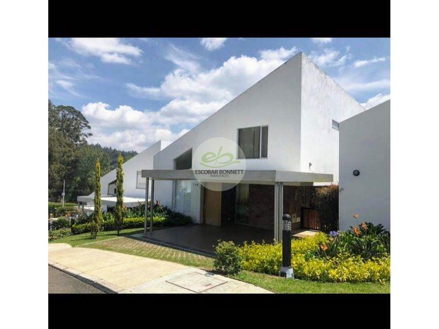 venta casa campestre en el retiro