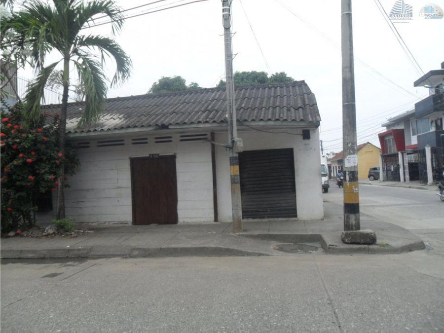 vendo casa lote en el centro de monteria