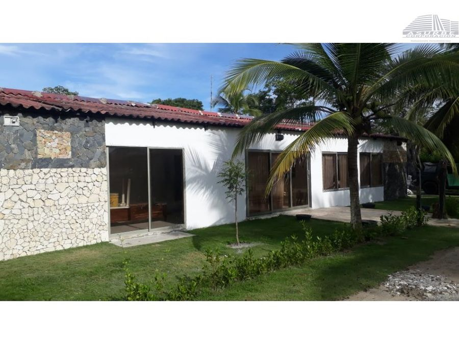 vendo cabana en el exclusivo sector el frances tolu
