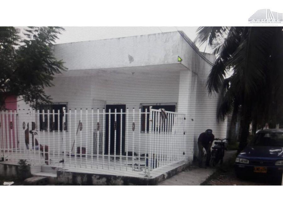vendo casa en el barrio juan xxiii monteria