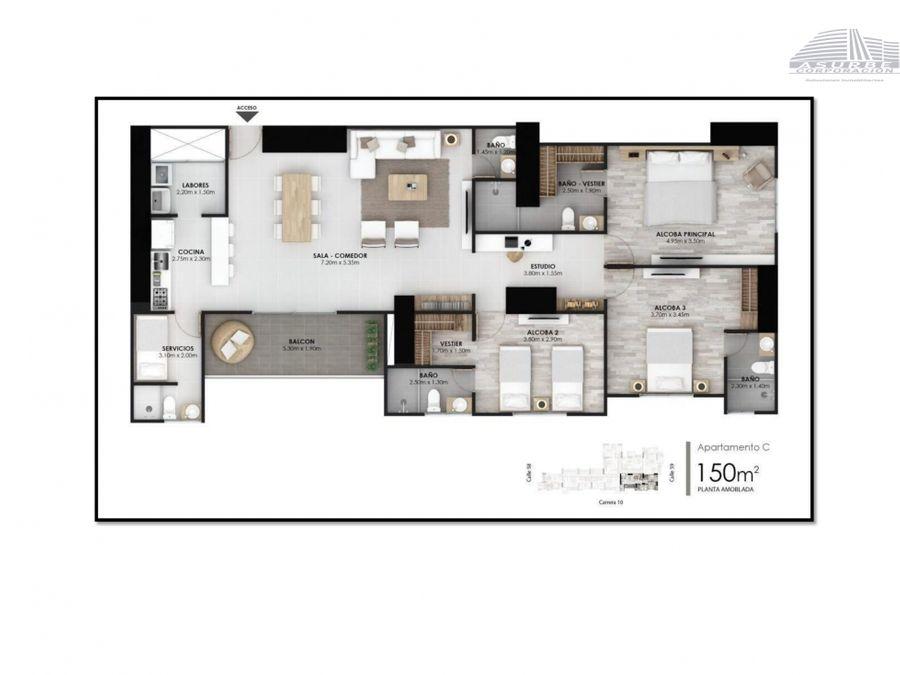 vendo apartamento nuevo la castellana
