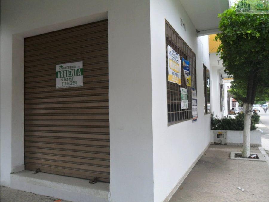 arriendo local comercial en el centro monteria