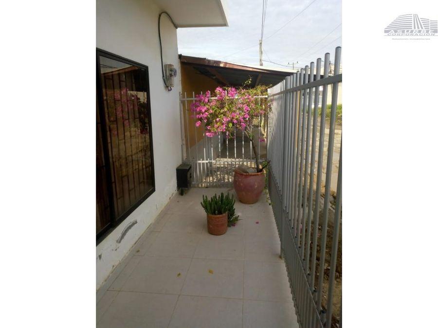 vendo casa en villa caribe monteria