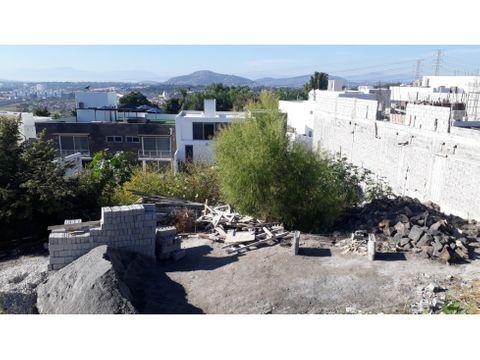 terreno en venta en burgos bugambilias 599m2 l46