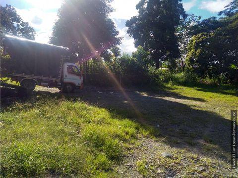 venta terreno urbano en acacias uso residencial