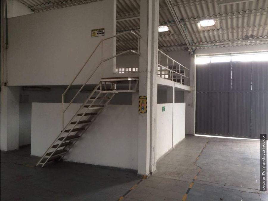 arriendo bodega de 250 m2 en villavicencio meta