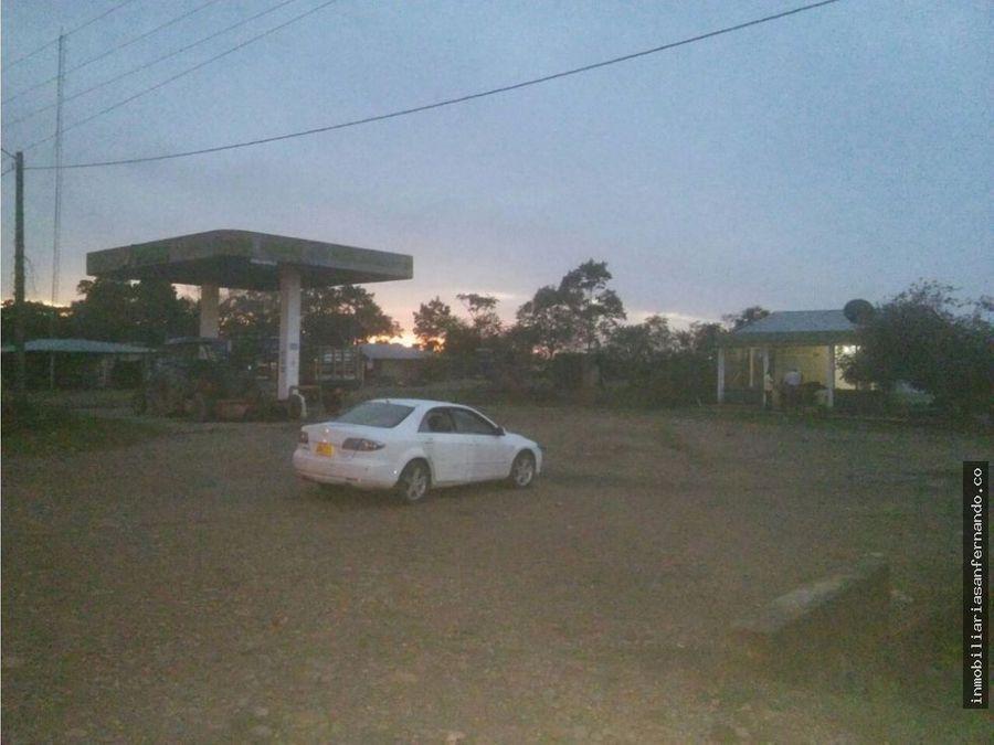 venta de terreno con uso para estacion de servicio