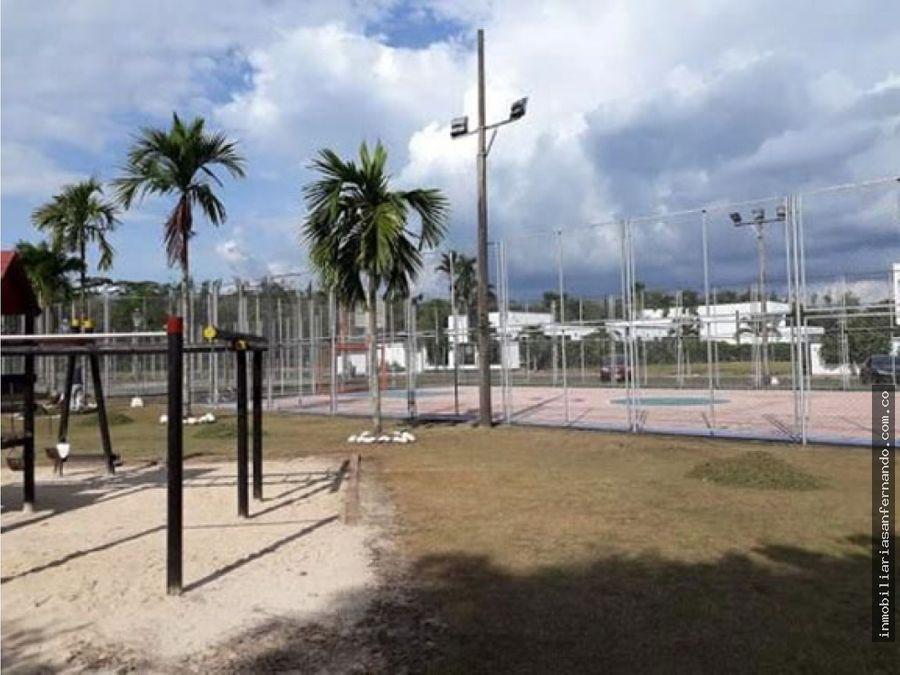 lote urbano en conjunto cerrado muy cerca al centro de acacias meta