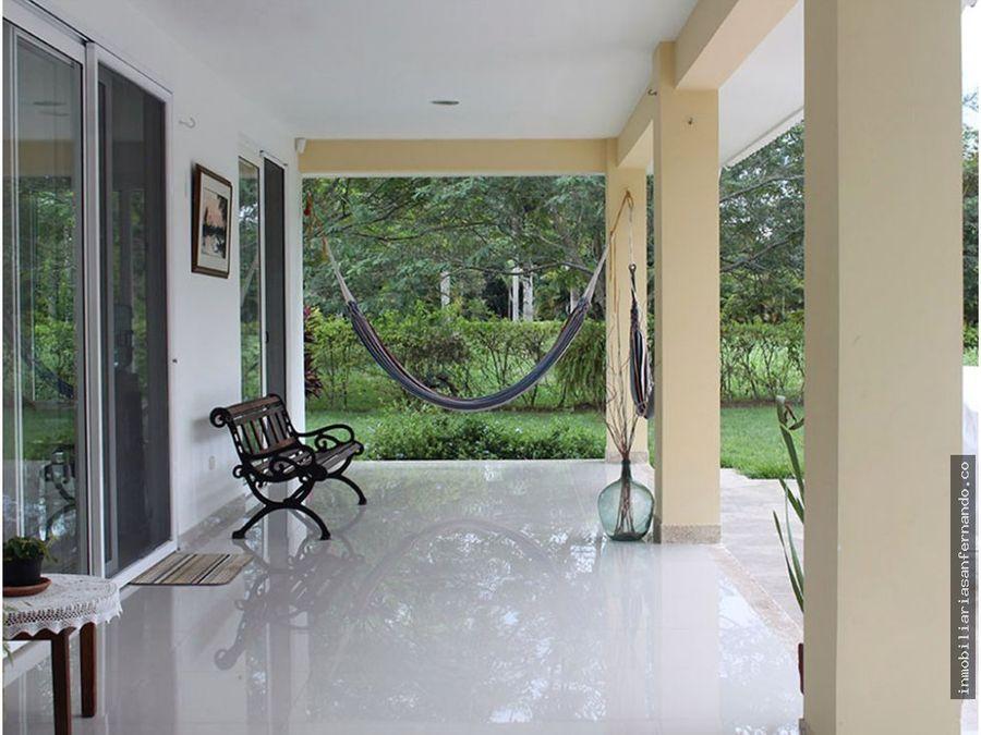 moderna casa campestre en villavicencio