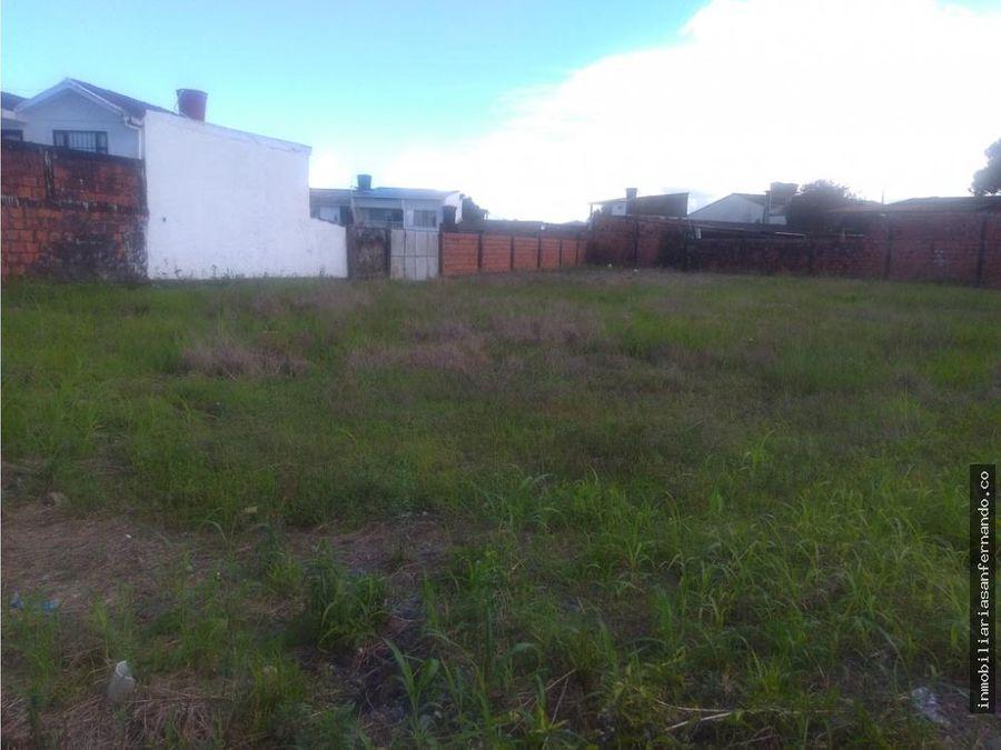 terreno urbano para construir torres de apartamentos en acacias
