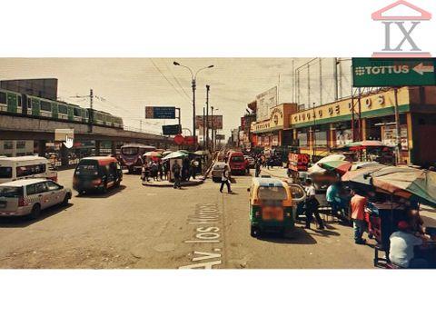 venta local comercial av los heroes de 200m2 san juan de miraflores