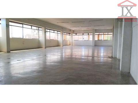 se alquila dos primeros pisos de local comercial 280m2 sjm