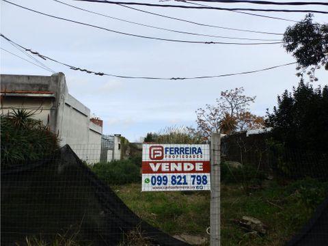 vende terreno de 377 m2 con 10 mts de frente