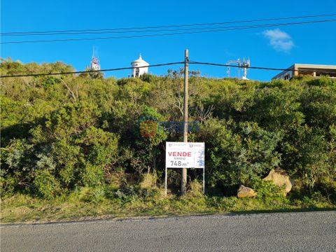 vende terrenos en cerro san antonio 767 m2 vista unica