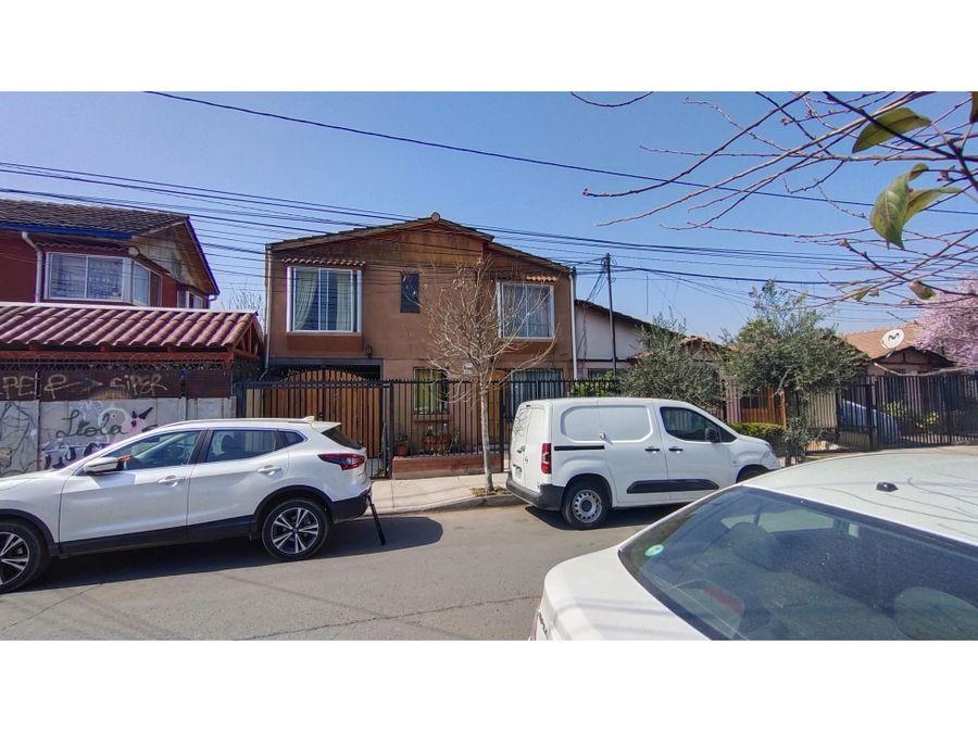 rebajada se vende hermosa casa en pudahuel excelente ubicacion 4d 2b