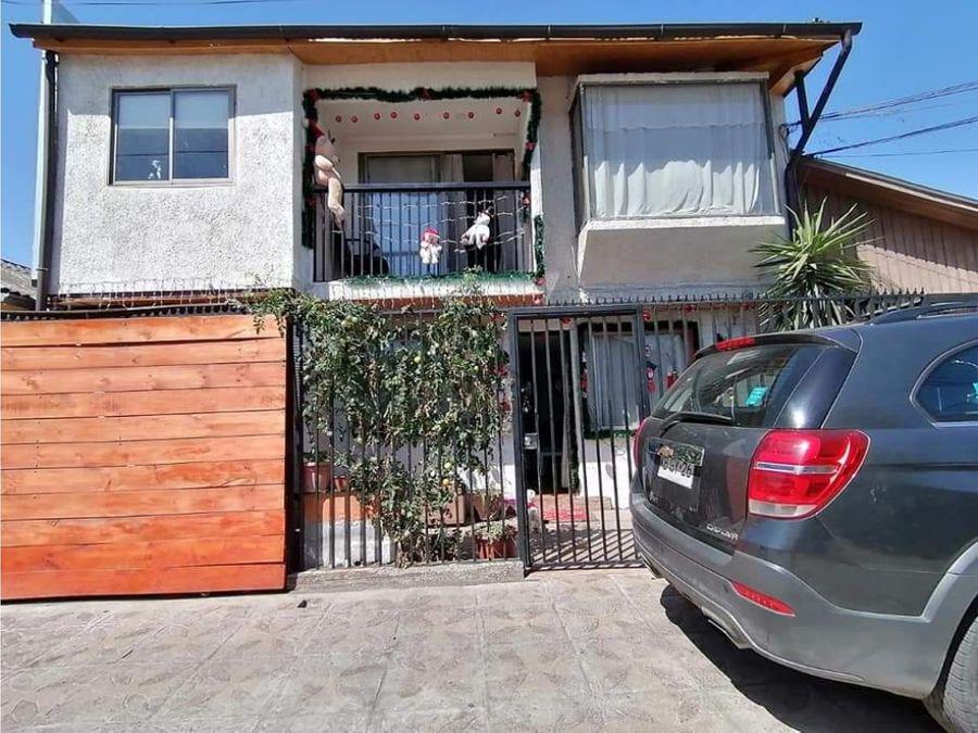 se vende casa en villa los heroes 5 d 2 b maipu