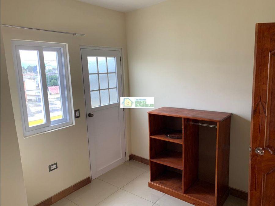 apartamento en alquiler edificio 25 67 zona 1 quetzaltenango