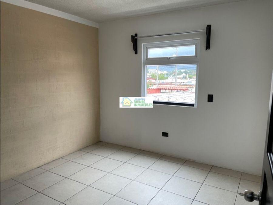 apartamento en alquiler 2do nivel colonia el maestro quetzaltenango