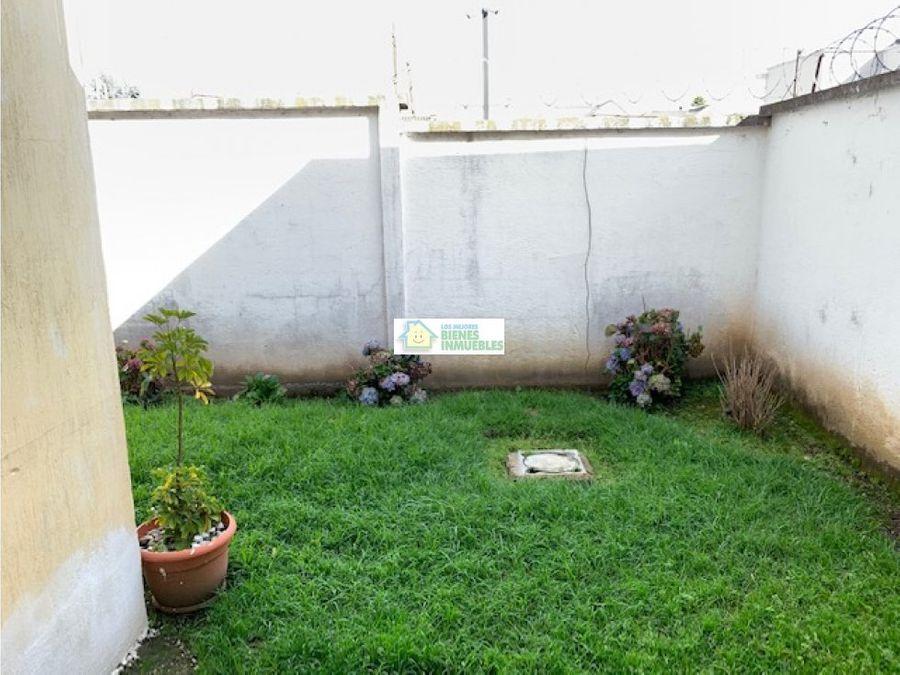 casa en alquiler en condominio zona 9 quetzaltenango