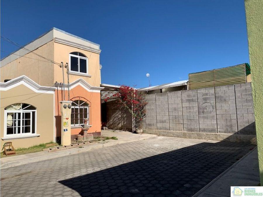 casa en venta en cond paseo de la arboleda xela