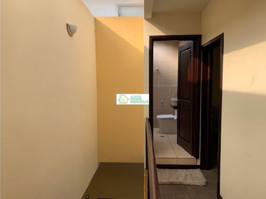casa amueblada en alquiler en cond marsella quetzaltenango