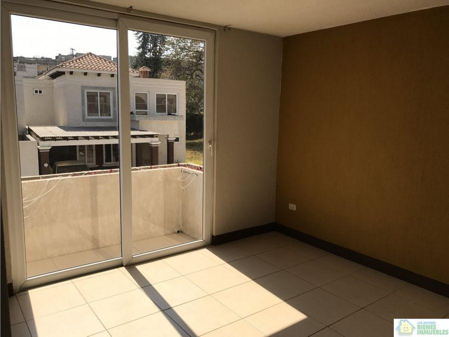 bonito apartamento en alquiler zona 3 xela