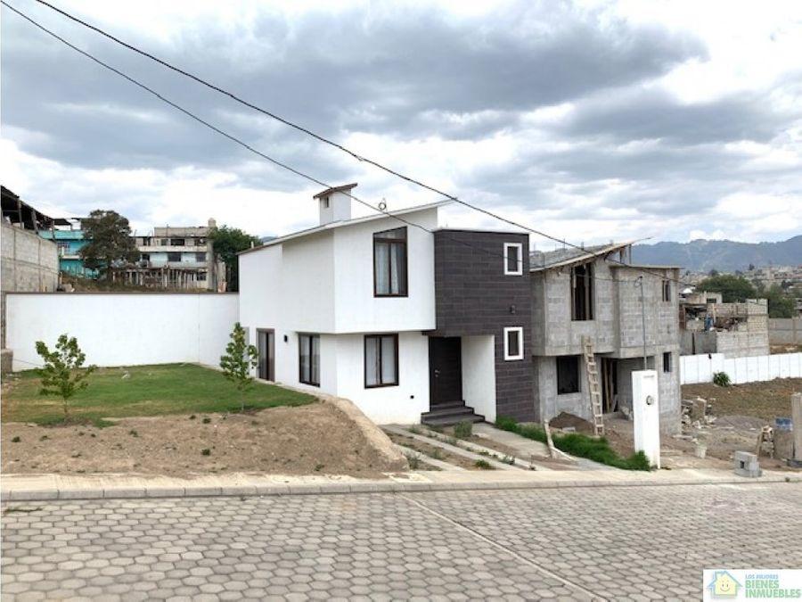 casas en venta en condominio helvetia zona 3 xela