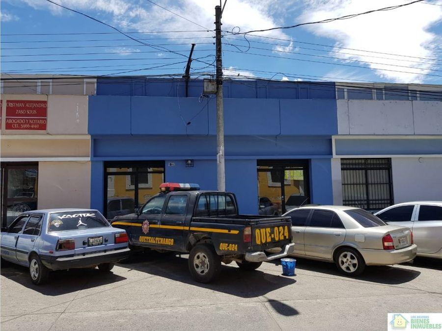 alquiler de local en la 14 avenida zona 1 de xela