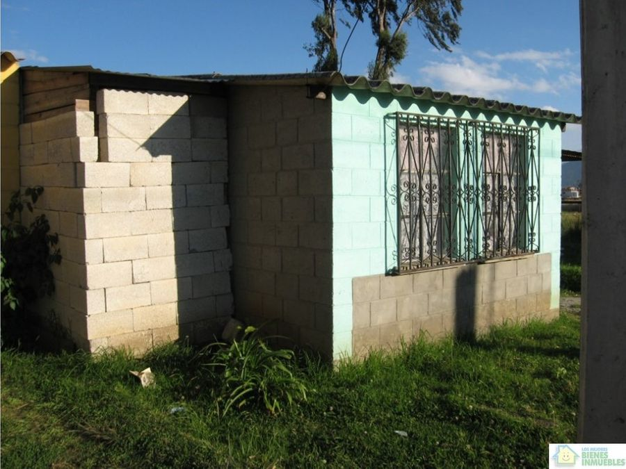 ganga casa en venta villas don luis olintepeque