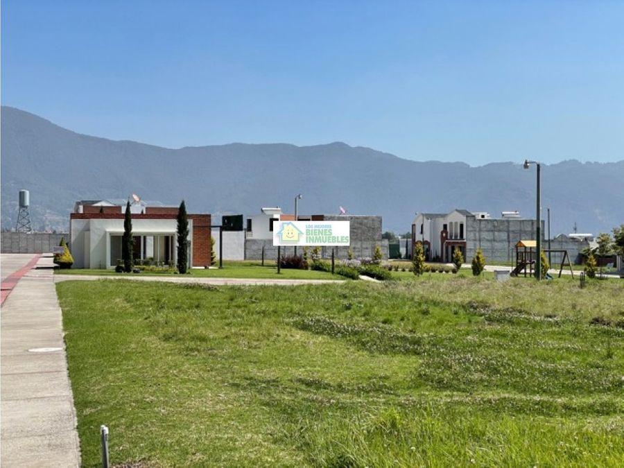 lote en venta condominio real paseo quetzaltenango