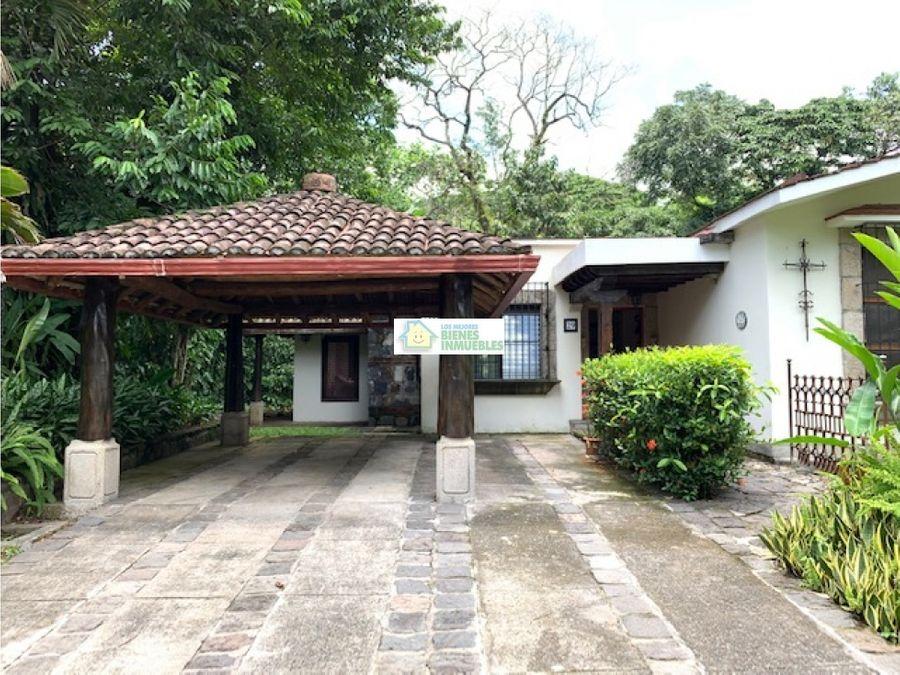 casa en venta en condominio las fuentes de san martin zapotitlan