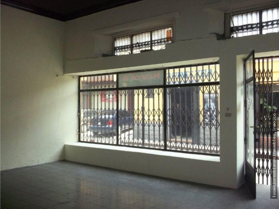 local comercial en alquiler en zona 1 xela