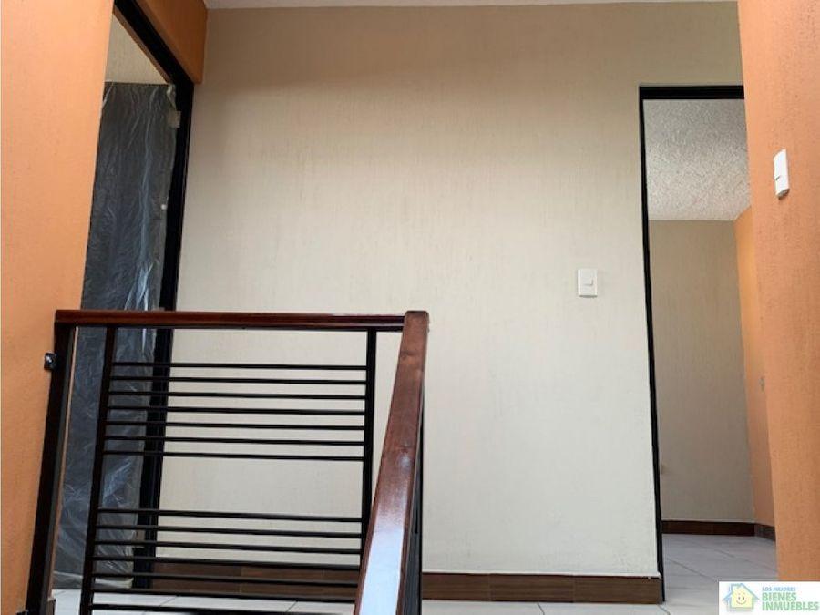 casa nueva en alquiler condominio zona 7 xela