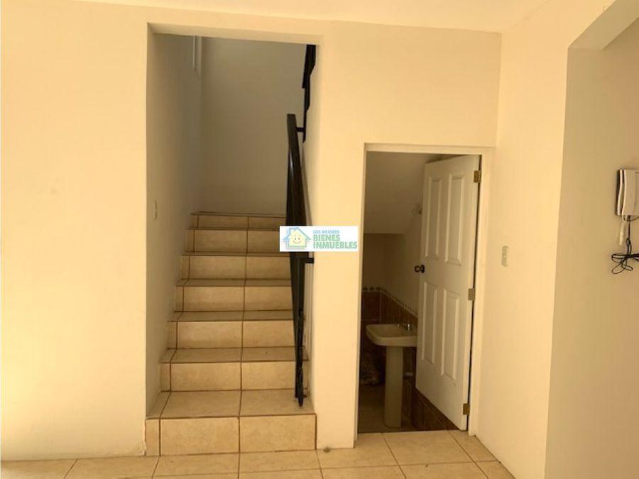 casa en alquiler residenciales luisa fernanda zona 8 xela