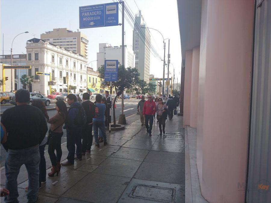 local comercial centro de lima av tacna