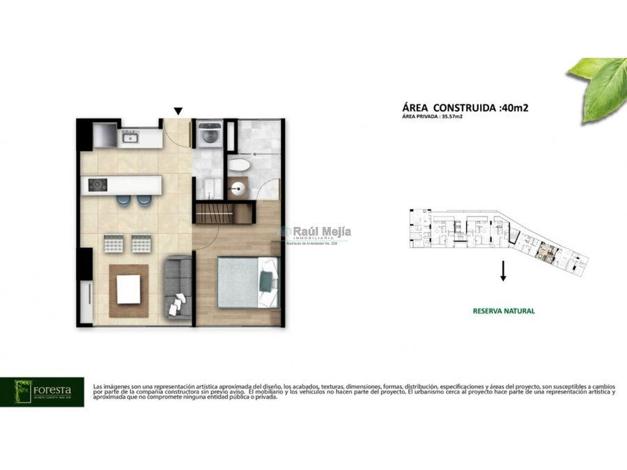 vendo apartaestudio de proyecto nuevo av 19 n0 de armenia x40 m2