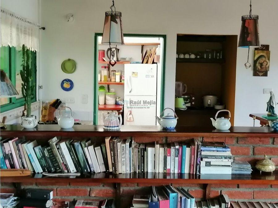 venta de lote con casa campestre